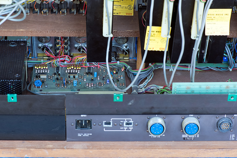ModularSynthesis - Moog System 55 Internal Wiring