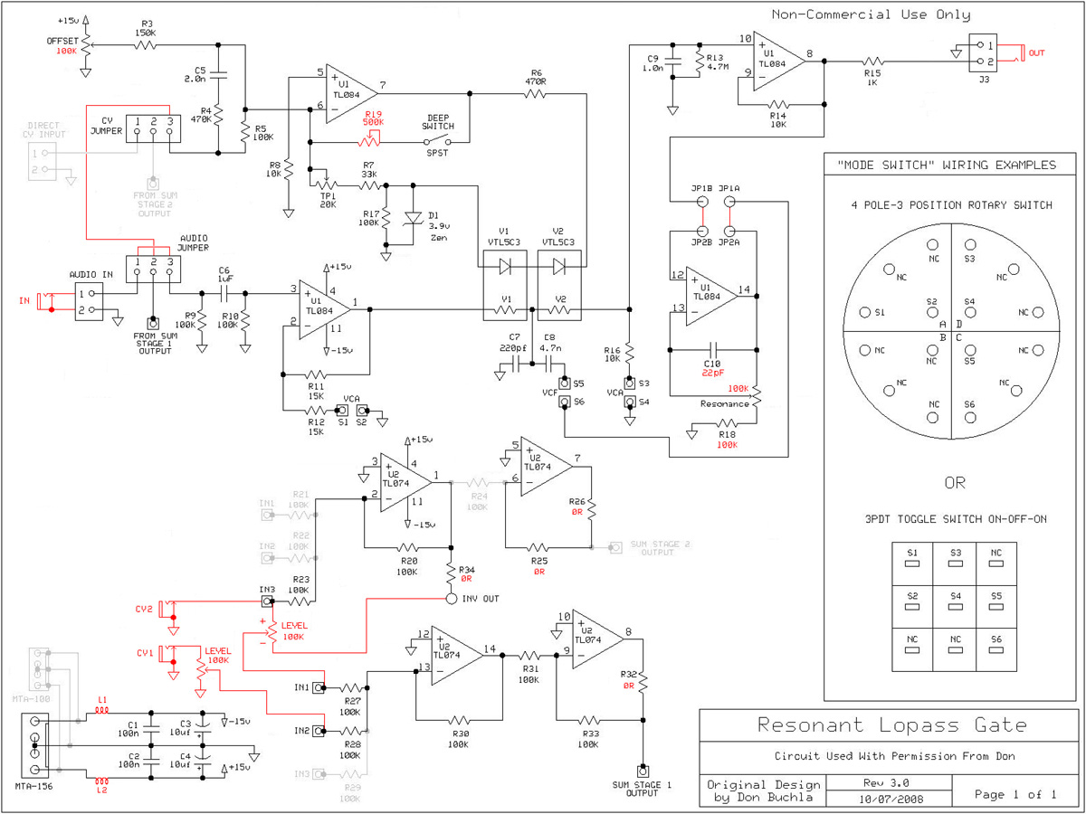 Muff Wiggler View Topic Resonant Lopass Gate Pcbs Taking Dave Clark Wiring Diagrams Schematic Http Modularsynthesiscom Nrm Djb Mods