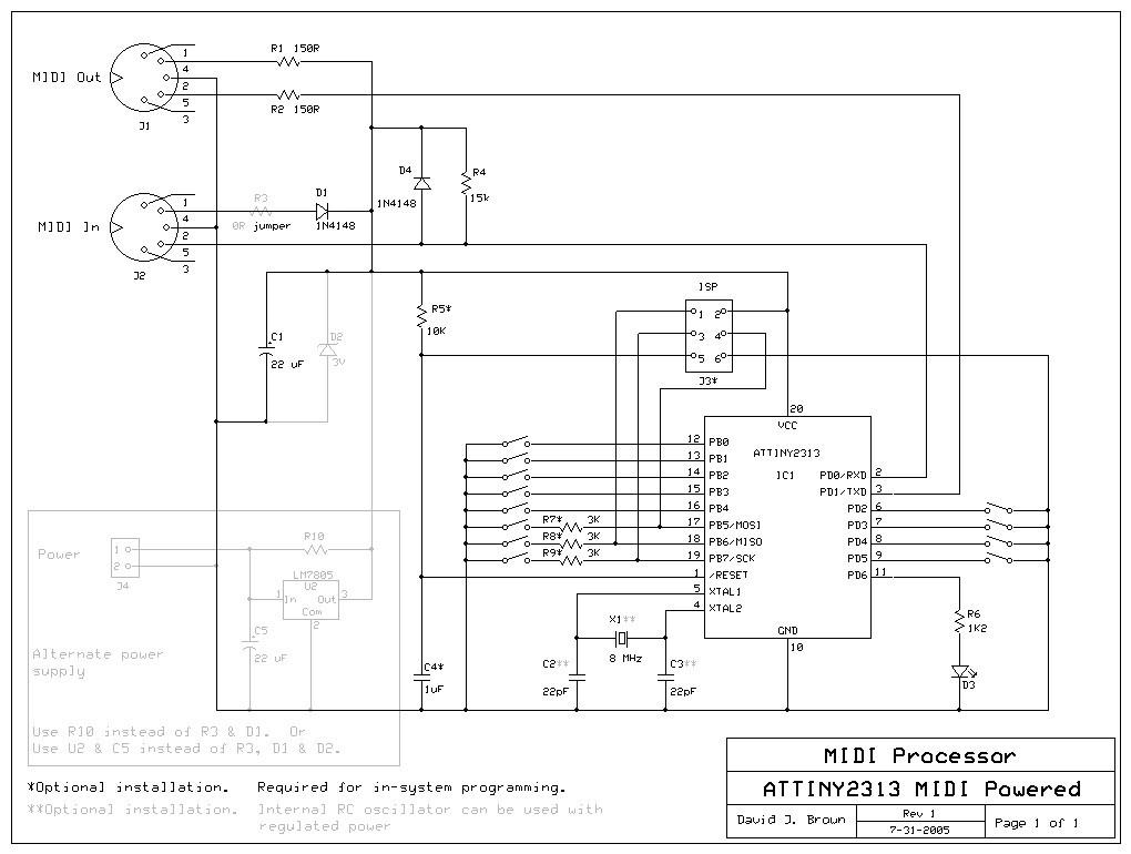 ModularSynthesis - MIDI processor